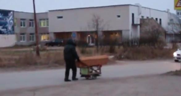 """Скриншот с видео, опубликованного на сайте """"Зори. Плюс"""""""