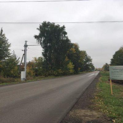 В деревне Нестюково будут фиксировать номера автомобилей