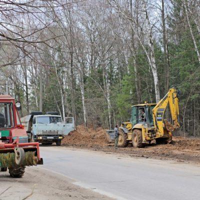 В Частинском районе отремонтированы несколько дорожных объектов