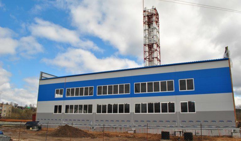 В Нытве запускают новые «газпромовские» модульные котельные