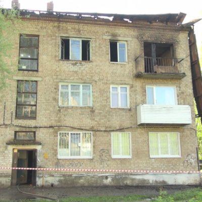 В Нытвенском районе произошел крупный пожар