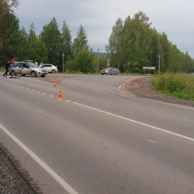 В Нытвенском районе в ДТП пострадал несовершеннолетний велосипедист