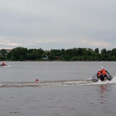 В Нытве соревновались юные водномоторники